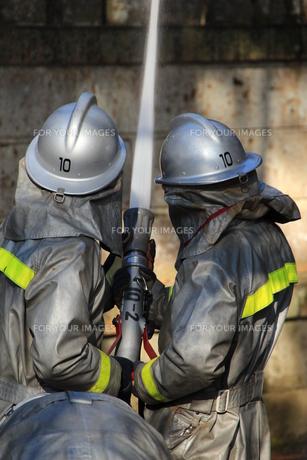 消防士の写真素材 [FYI00255616]