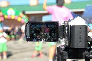 ビデオ撮影の写真素材 [FYI00255634]