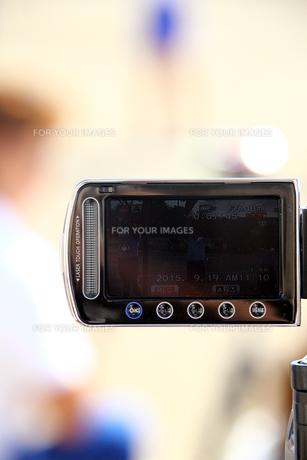 ビデオ撮影の写真素材 [FYI00255636]