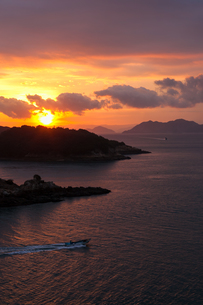 Tomonoura sunriseの素材 [FYI00255691]