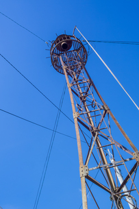 Fire lookout towerの写真素材 [FYI00255714]