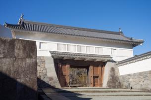 Odawara Castle Akagane-mon gateの写真素材 [FYI00255745]