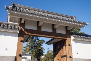 Odawara Castle Umadashi-mon gateの写真素材 [FYI00255747]