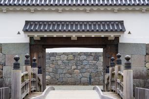 Odawara Castle Tokiwagi-mon gateの写真素材 [FYI00255767]