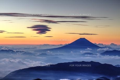 北岳の写真素材 [FYI00256086]
