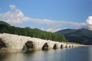 タウシュベツ橋梁の写真素材 [FYI00256211]