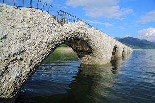 タウシュベツ橋梁の写真素材 [FYI00256226]