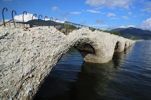 タウシュベツ橋梁の写真素材 [FYI00256229]