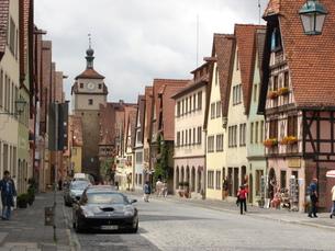 ヨーロッパの街並みの写真素材 [FYI00256235]