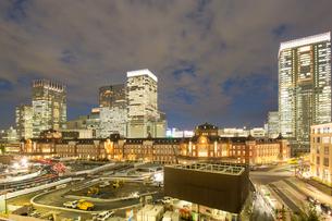 東京駅の写真素材 [FYI00256753]