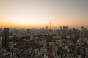 東京タワーの写真素材 [FYI00256756]