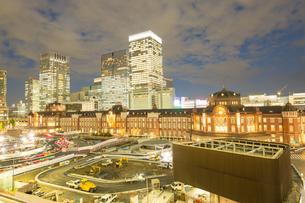 東京駅の写真素材 [FYI00256761]
