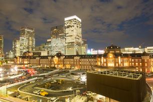 東京駅の写真素材 [FYI00256767]