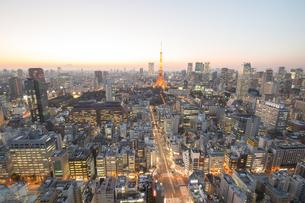 東京タワーの写真素材 [FYI00256772]