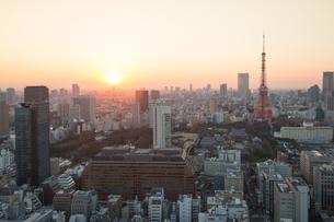東京タワーの写真素材 [FYI00256784]