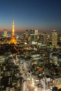 東京タワーの写真素材 [FYI00256787]