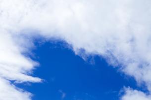 青空と雲の写真素材 [FYI00256917]