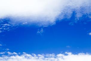 青空と雲の写真素材 [FYI00256933]