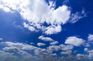 青空と雲の写真素材 [FYI00256977]
