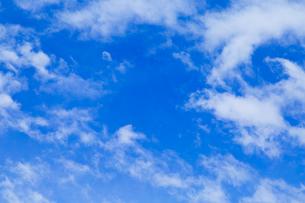 青空と雲の写真素材 [FYI00257007]