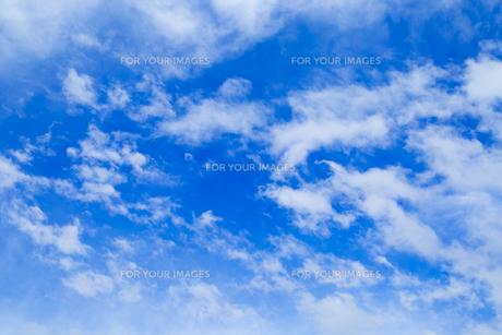 青空と雲の写真素材 [FYI00257010]