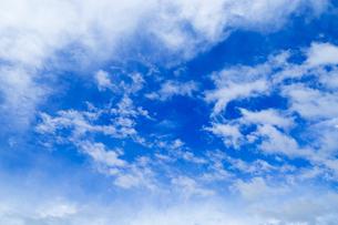 青空と雲の写真素材 [FYI00257022]