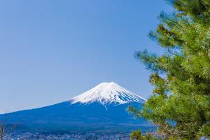 富士山の写真素材 [FYI00257120]