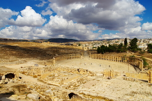 Jerashの写真素材 [FYI00257194]