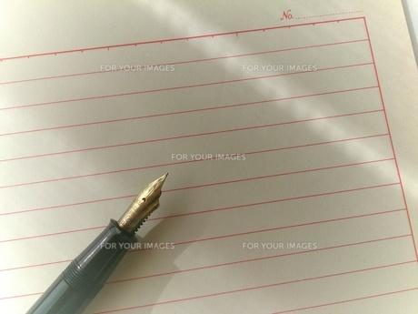 古い万年筆の写真素材 [FYI00257684]
