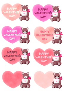 バレンタインテディベアの写真素材 [FYI00257719]
