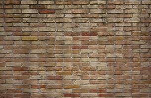 古びたレンガ塀の写真素材 [FYI00257733]