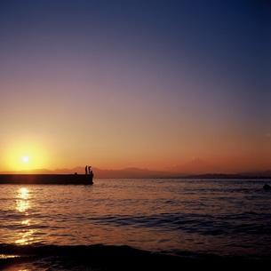 SunSetの写真素材 [FYI00257757]