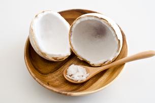 ココナッツオイルの素材 [FYI00258223]