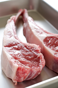 骨付きラム肉の写真素材 [FYI00258683]