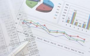 ビジネスイメージ グラフの写真素材 [FYI00259269]