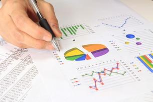 ビジネスイメージ グラフの写真素材 [FYI00259277]