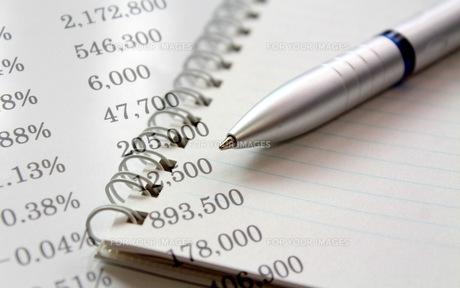ビジネスイメージ 手帳とペンの写真素材 [FYI00259330]