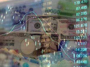 金融 為替レートの変動の写真素材 [FYI00259399]