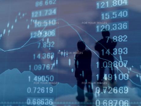 金融 為替レートの変動の写真素材 [FYI00259402]