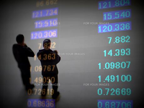 金融 為替レートの変動の素材 [FYI00259403]