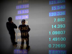 金融 為替レートの変動の写真素材 [FYI00259403]