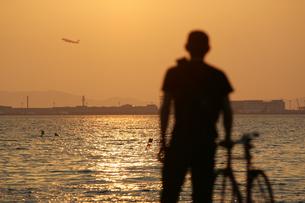 夕日の写真素材 [FYI00259812]