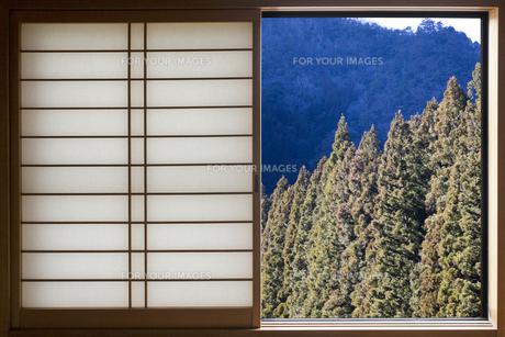 窓の風景の写真素材 [FYI00259832]