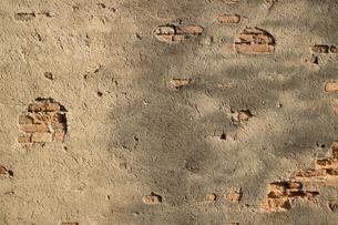 土の壁の写真素材 [FYI00259843]