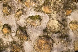 石の壁の写真素材 [FYI00259861]