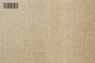 クラフト紙とバーコードの写真素材 [FYI00259865]