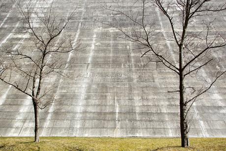 そびえ立つ壁の素材 [FYI00259881]