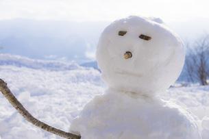 雪だるまの写真素材 [FYI00259942]