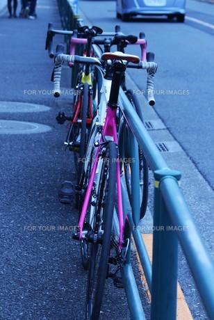 カラフルな自転車の素材 [FYI00259971]
