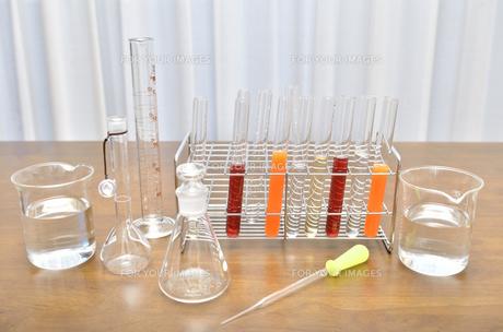 理科の実験器具の写真素材 [FYI00260711]